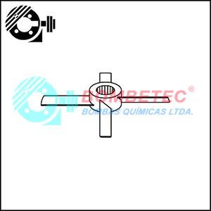 Fabricante de hélice pá inclinada