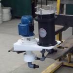 Bomba filtro de cartucho em PTFE