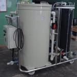 Bomba filtro com tanque de mistura