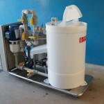 Sistemade recirculação e filtragem com aquecimento