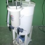 Tanque de recirculação com filtro tipo cartucho